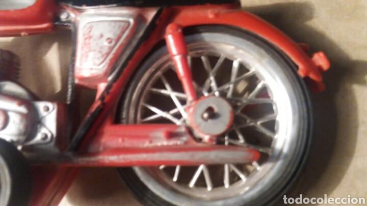 Juguetes antiguos Sanchís: Pieza unica, moto años 60 . Prototipo Sanchis Ibi Alicante. - Foto 5 - 95877038