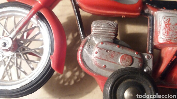 Juguetes antiguos Sanchís: Pieza unica, moto años 60 . Prototipo Sanchis Ibi Alicante. - Foto 6 - 95877038