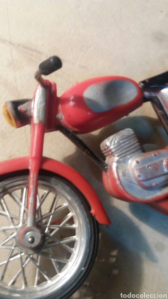 Juguetes antiguos Sanchís: Pieza unica, moto años 60 . Prototipo Sanchis Ibi Alicante. - Foto 7 - 95877038