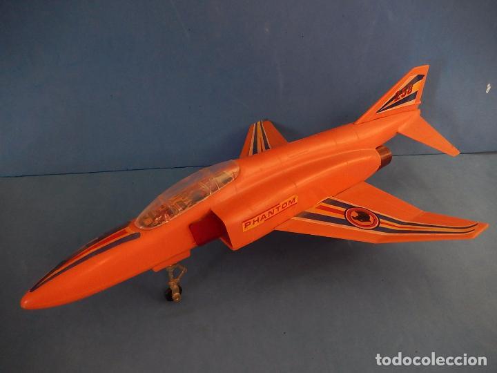 Juguetes antiguos Sanchís: Avión. Phantom II. Fabricado por Sanchís. Fricción. - Foto 2 - 99885015