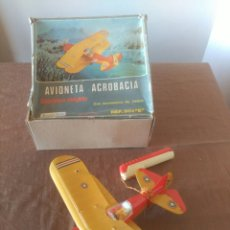 Juguetes antiguos Sanchís: AVIONETA ACROBACIA, ELECTRICO DIRIGIDO. DE SANCHIS. Lote 103392991
