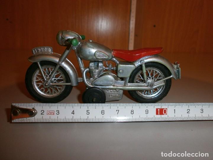 MOTO MOTOCICLETA SANCHIS IBI Nº140 AÑOS 60 ORIGINAL (Juguetes - Marcas Clásicas - Sanchís)