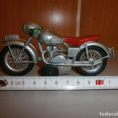 Juguetes antiguos Sanchís: MOTO MOTOCICLETA SANCHIS IBI Nº140 AÑOS 60 ORIGINAL. Lote 103698007