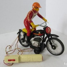 Juguetes antiguos Sanchís: MOTO CROSS BULTACO CEMOTO DE SANCHIS. Lote 108929804