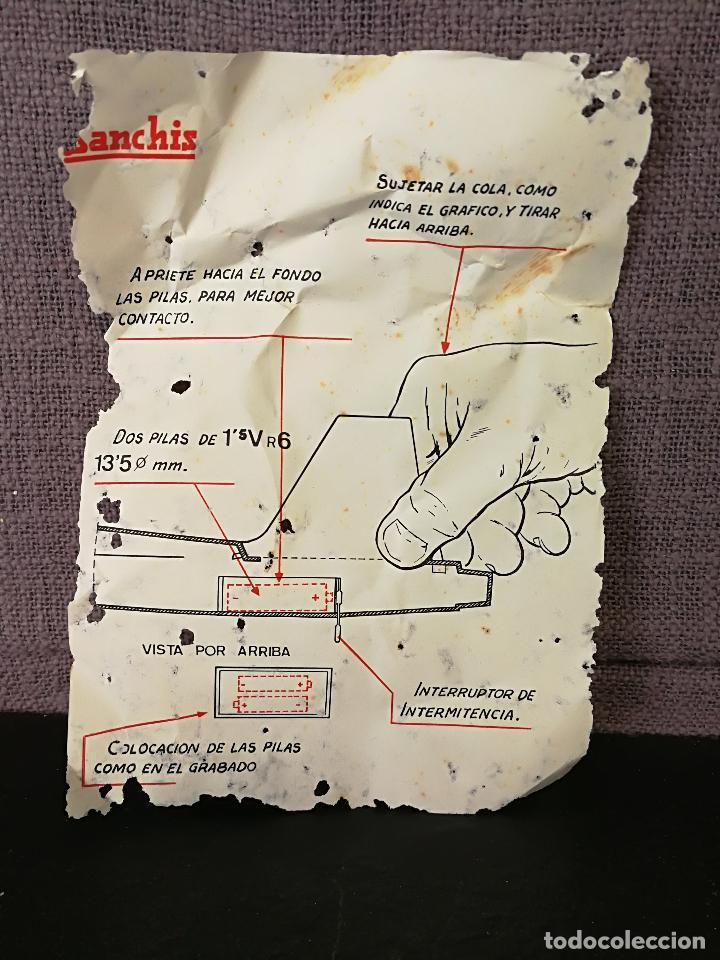 Juguetes antiguos Sanchís: ANTIGUO AVIÓN A FRICCIÓN F5 DE SANCHIS - Foto 18 - 178736313