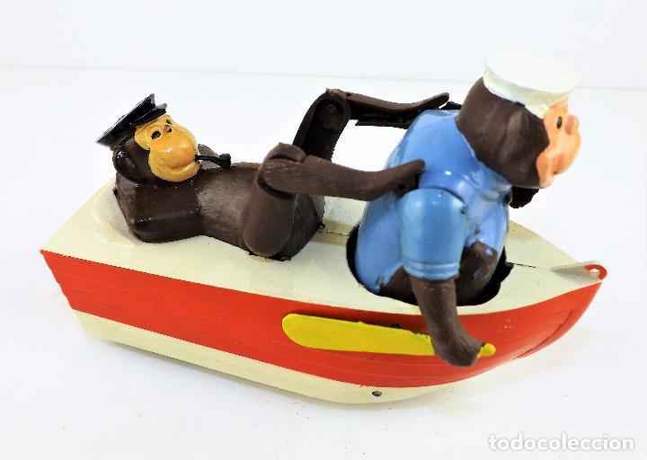 Juguetes antiguos Sanchís: Sanchís Monos en barca - Foto 3 - 111750047