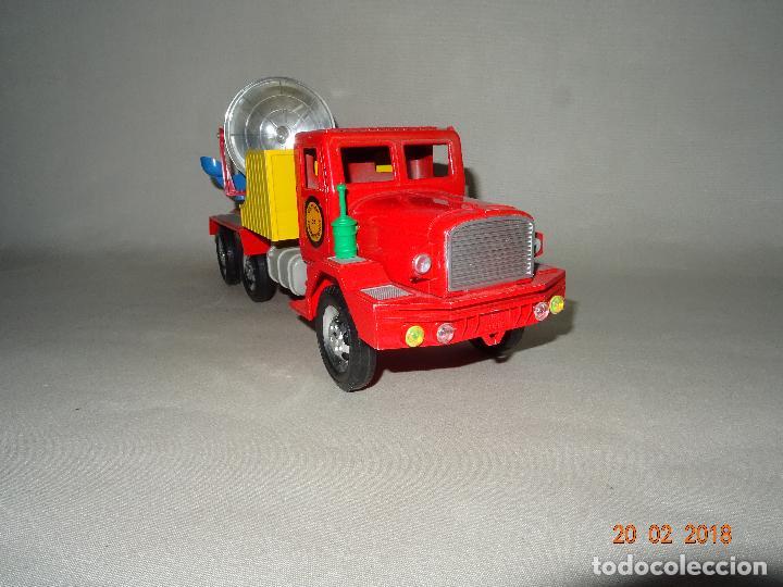 Juguetes antiguos Sanchís: Antiguo Camión de Transmisiones con Reflector - Gran Tamaño Ref. 220 de Juguetes SANCHÍS - Foto 2 - 113058755