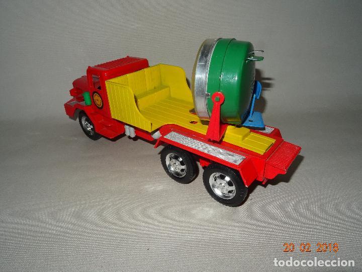Juguetes antiguos Sanchís: Antiguo Camión de Transmisiones con Reflector - Gran Tamaño Ref. 220 de Juguetes SANCHÍS - Foto 9 - 113058755