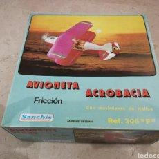 Juguetes antiguos Sanchís: AVIONETA ACROBACIA SANCHIS. Lote 113102240