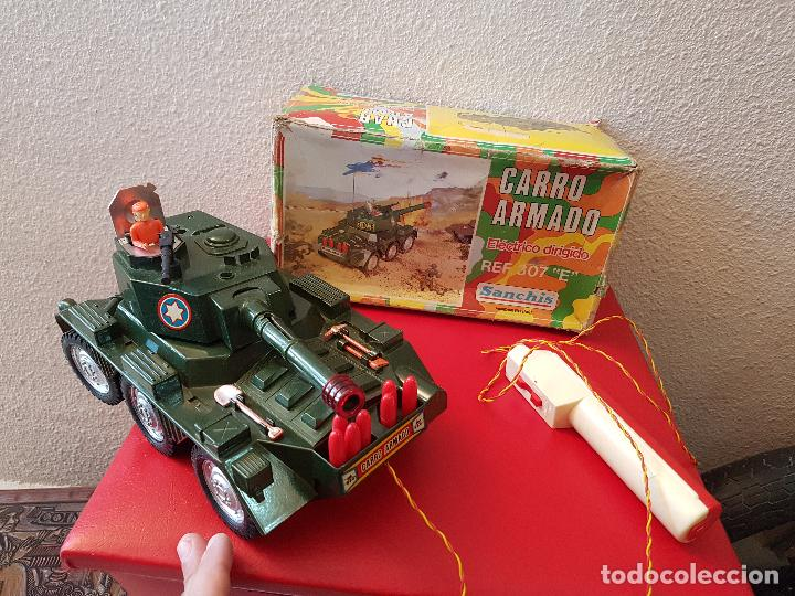 Antiguo Tanque Carro De Combate Armado Juguete Comprar Juguetes