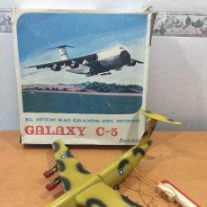 Juguetes antiguos Sanchís: SANCHIS AVION GALAXY C-5 ELECTRICO MILITAR ULTRA RARO. Lote 115536579