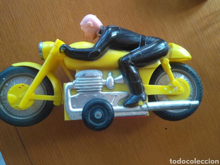 Juguetes antiguos Sanchís: MOTO A FRICCIÓN SANCHIS IBI ORIGINAL - Foto 6 - 117455156