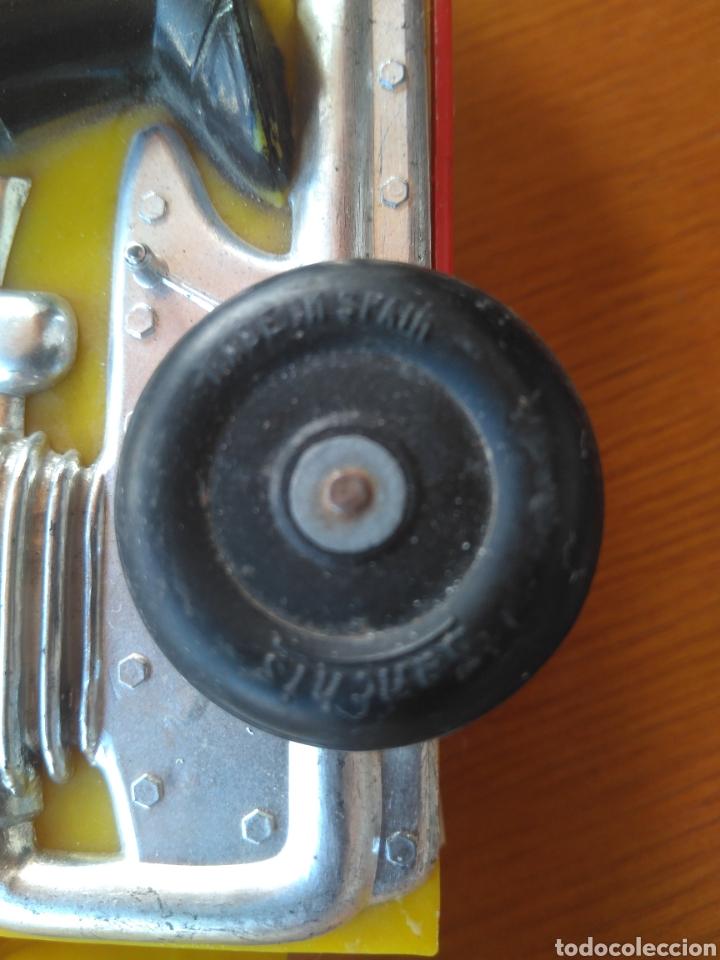 Juguetes antiguos Sanchís: MOTO A FRICCIÓN SANCHIS IBI ORIGINAL - Foto 7 - 117455156