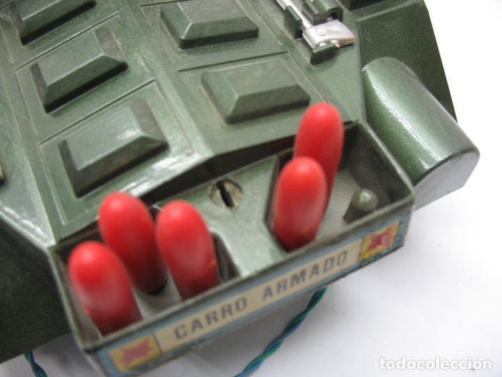 Juguetes antiguos Sanchís: Sanchis - Tanque Carro Armado de plástico con mecanismo a pilas y con mando - Foto 7 - 120294947