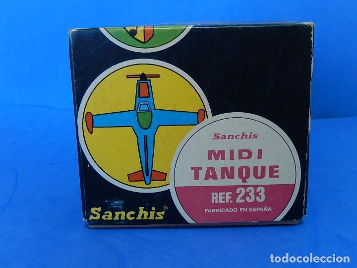 Juguetes antiguos Sanchís: Midi Tanque. Ref. 233. Sanchís. España. - Foto 20 - 121052519