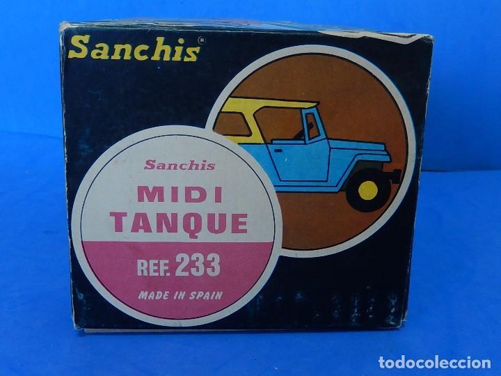 Juguetes antiguos Sanchís: Midi Tanque. Ref. 233. Sanchís. España. - Foto 21 - 121052519