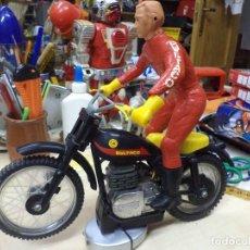 Juguetes antiguos Sanchís: MOTO BULTACO MOTOCROSS DE SANCHÍS.PARA RESTAURAR.AÑOS 70.. Lote 126123435