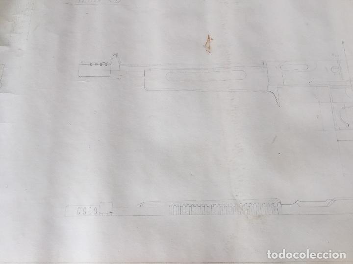 Juguetes antiguos Sanchís: SANCHIS PLANOS ORIGINALES SUBFUSIL 309 METRALLETA - Foto 10 - 132969246