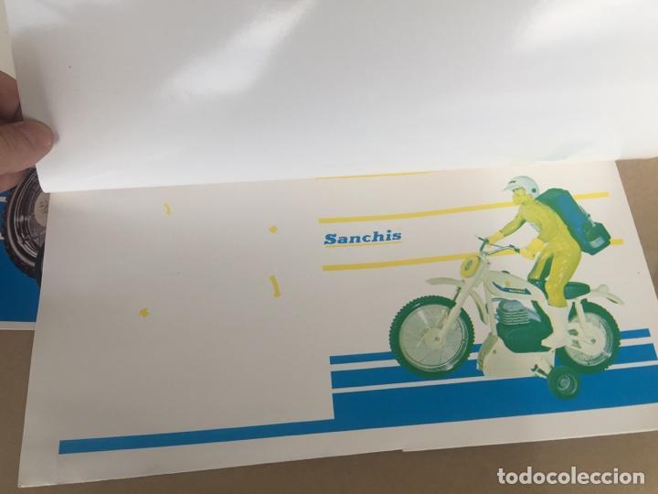 Juguetes antiguos Sanchís: SANCHIS MOTO BULTACO MONOCANAL PRUEBAS IMPRENTA CAJA - Foto 7 - 138989354
