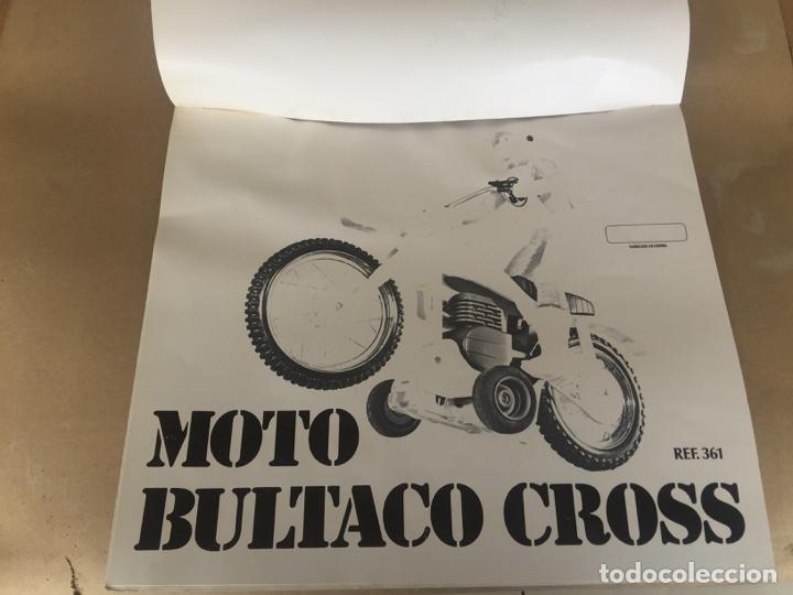 Juguetes antiguos Sanchís: SANCHIS MOTO BULTACO CROSS PRUEBAS IMPRENTA CAJA - Foto 2 - 138989598