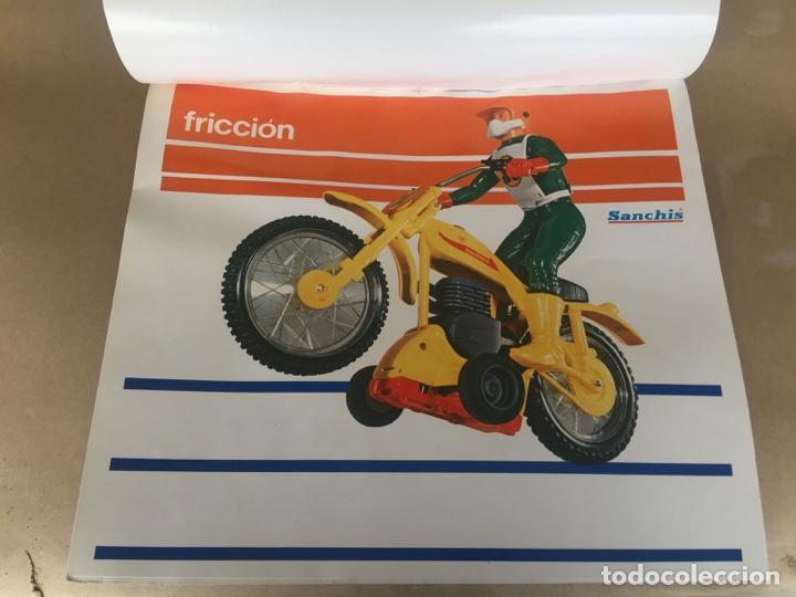 Juguetes antiguos Sanchís: SANCHIS MOTO BULTACO CROSS PRUEBAS IMPRENTA CAJA - Foto 3 - 138989598