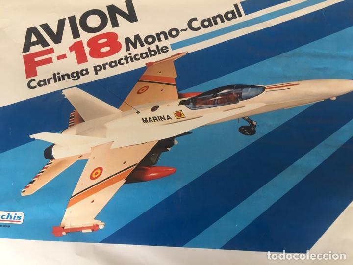 Juguetes antiguos Sanchís: SANCHIS AVION F-18 PRUEBAS IMPRENTA CAJA - Foto 2 - 138989878