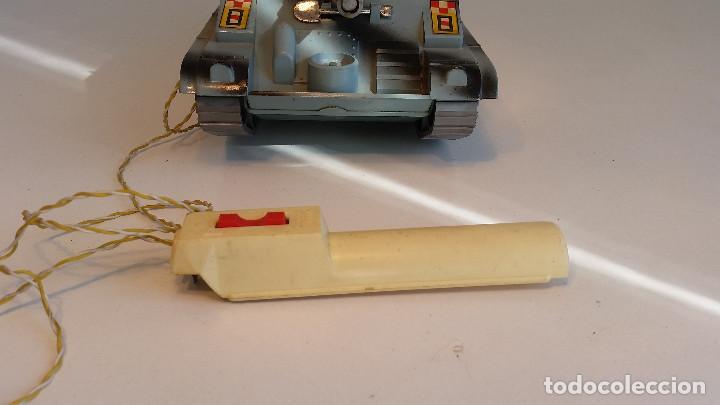 Juguetes antiguos Sanchís: Cañon Autopropulsado de Sanchis, funcionando ! Vintage spanish bat-op, working ! - Foto 7 - 139070826