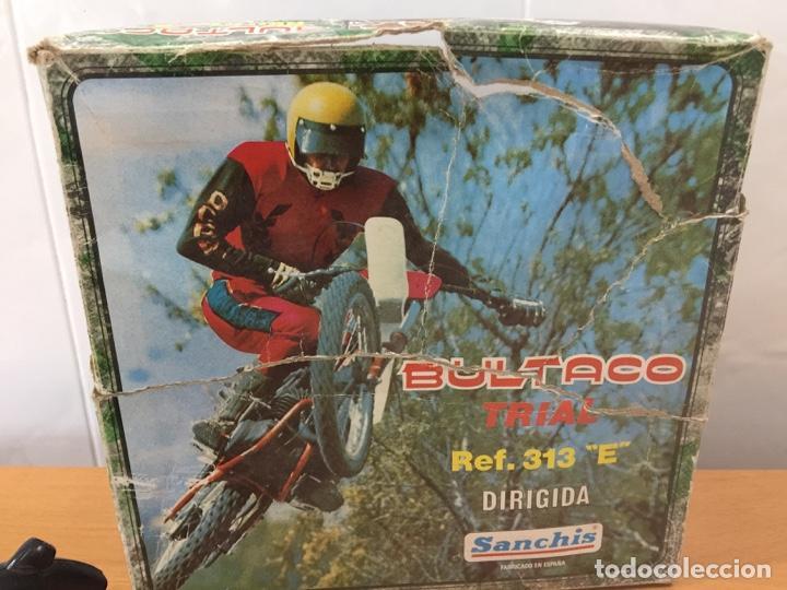 Juguetes antiguos Sanchís: MOTO BULTACO SANCHIS ELECTRICA PROTOTIPO - Foto 2 - 140144702