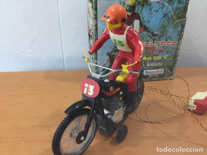 Juguetes antiguos Sanchís: MOTO BULTACO SANCHIS ELECTRICA PROTOTIPO - Foto 3 - 140144702