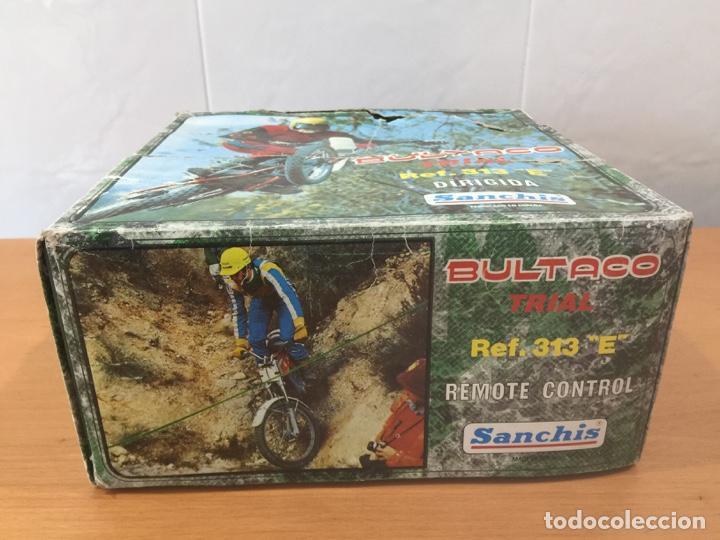 Juguetes antiguos Sanchís: MOTO BULTACO SANCHIS ELECTRICA PROTOTIPO - Foto 13 - 140144702