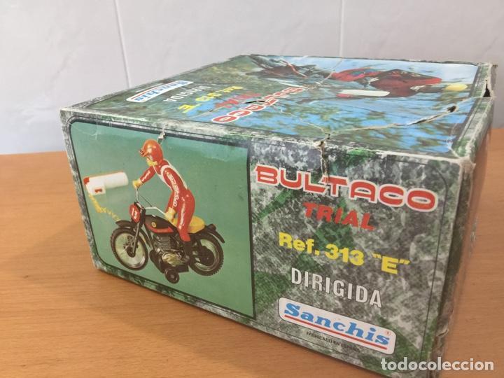 Juguetes antiguos Sanchís: MOTO BULTACO SANCHIS ELECTRICA PROTOTIPO - Foto 16 - 140144702