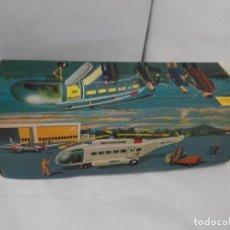 Juguetes antiguos Sanchís - Helicoptero de transporte de pasajeros Frelon de Sanchis con su caja. Con mando. - 140150266