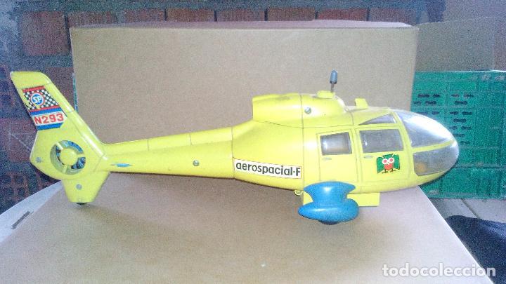 HELICOPTERO AEROSPACIAL-F A FRICCION - MARCA SANCHIS - AÑOS 70-80 (Juguetes - Marcas Clásicas - Sanchís)