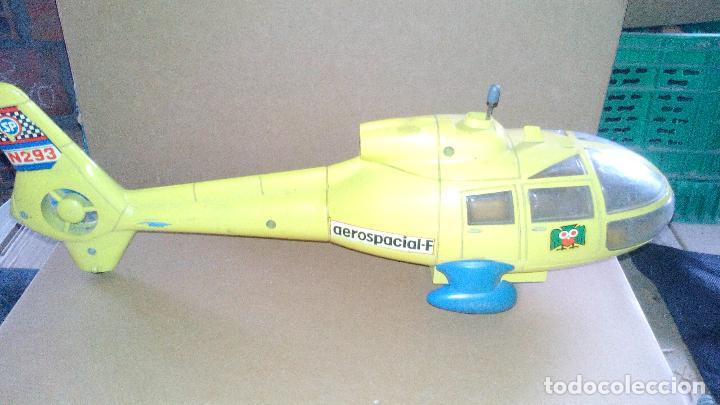 Juguetes antiguos Sanchís: HELICOPTERO AEROSPACIAL-F A FRICCION - MARCA SANCHIS - AÑOS 70-80 - Foto 2 - 143706066