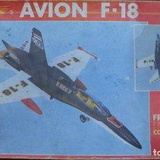 Juguetes antiguos Sanchís: AVIÓN F-18 A FRICCIÓN Y CON SIRENA - SANCHÍS. Lote 144440370
