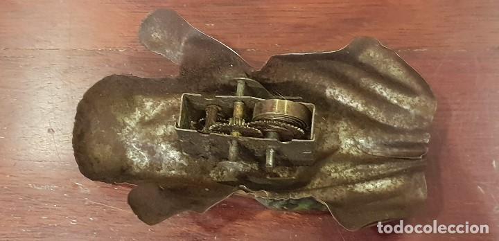 Juguetes antiguos Sanchís: MUY ANTIGUA RANA DE HOJALATA (LATA) LA ISLA RS ROGELIO SANCHIS Y VA A CUERDA - Foto 7 - 147676982