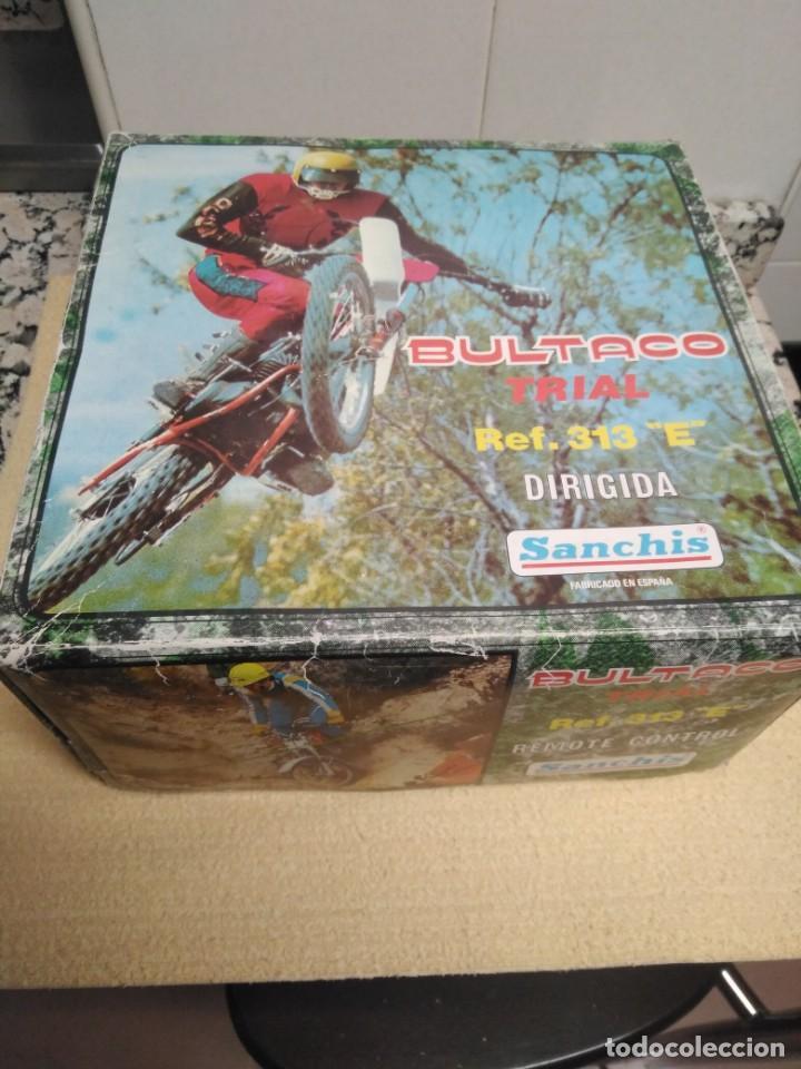 Juguetes antiguos Sanchís: Bultaco Trial Sanchis - Foto 2 - 151462678