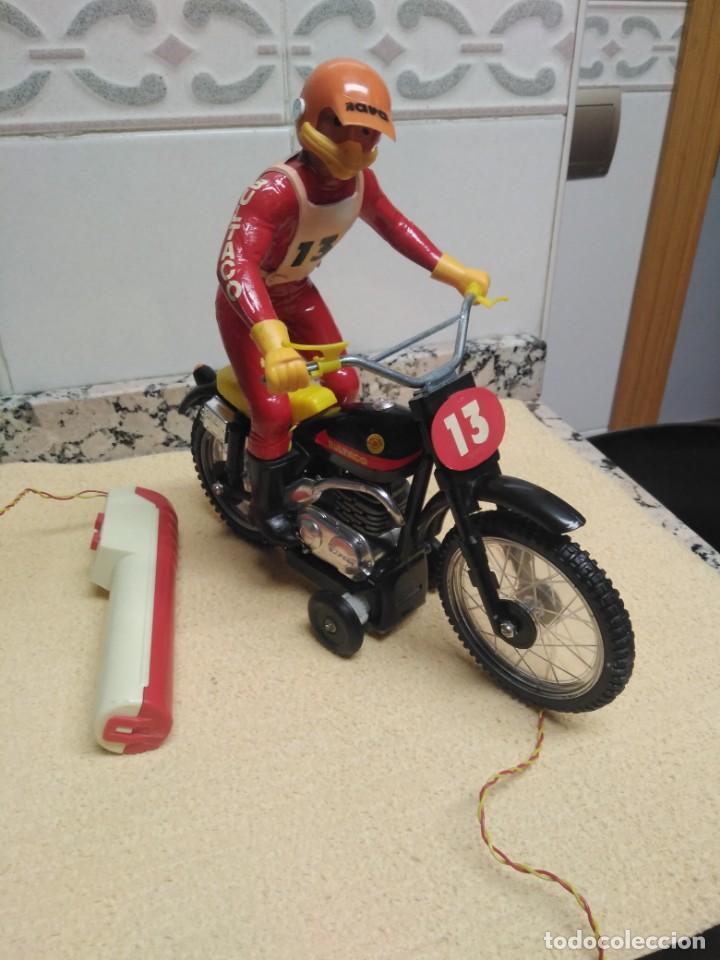 Juguetes antiguos Sanchís: Bultaco Trial Sanchis - Foto 4 - 151462678
