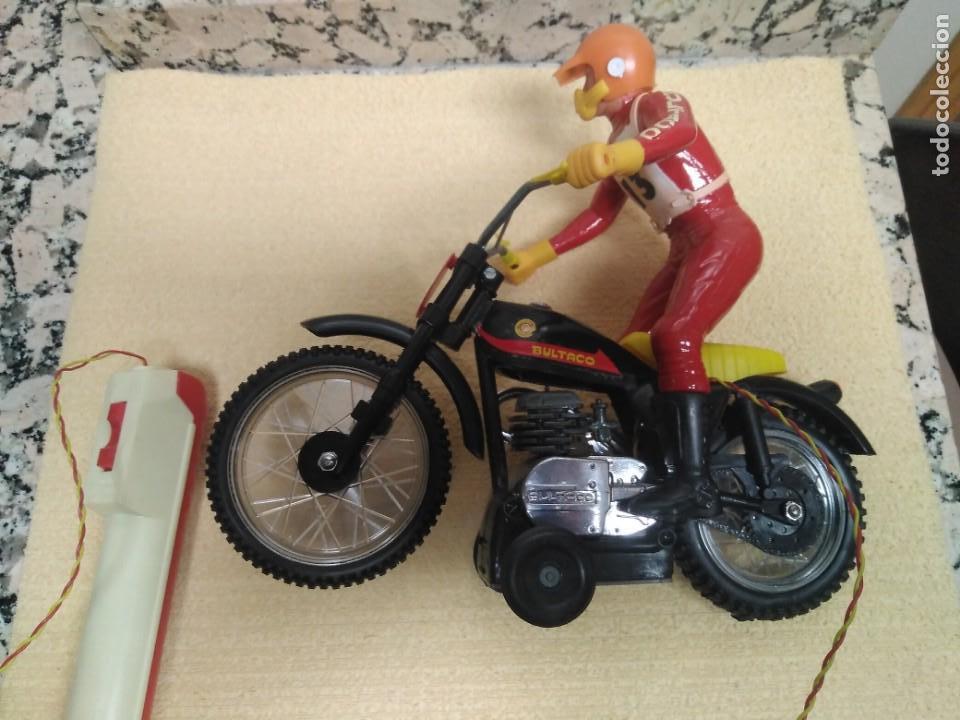 Juguetes antiguos Sanchís: Bultaco Trial Sanchis - Foto 8 - 151462678