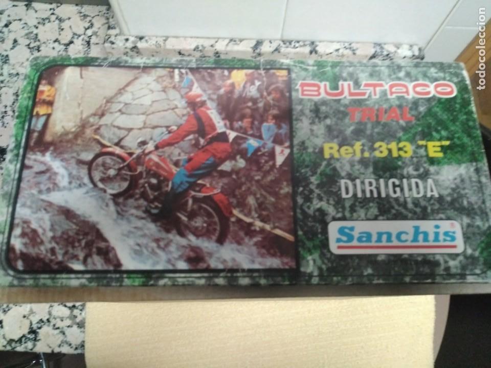 Juguetes antiguos Sanchís: Bultaco Trial Sanchis - Foto 13 - 151462678