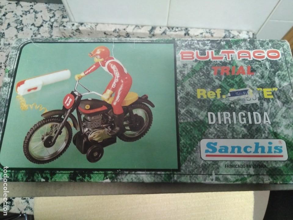 Juguetes antiguos Sanchís: Bultaco Trial Sanchis - Foto 15 - 151462678