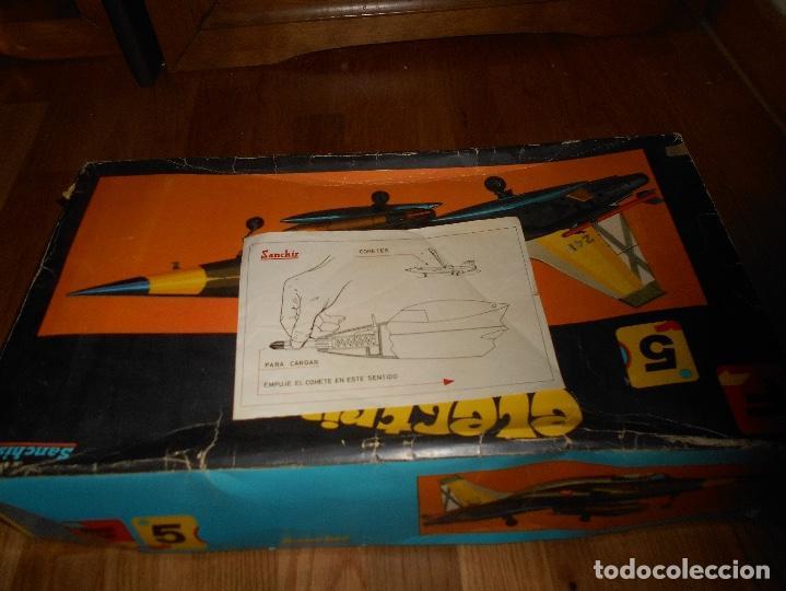 Juguetes antiguos Sanchís: AVION CAZA SUPERSONICO F-5 DE SANCHIS EN CAJA - Foto 10 - 151903814