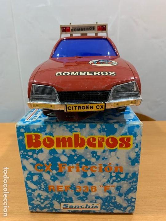 Juguetes antiguos Sanchís: CITROEN CX BOMBEROS SANCHIS - Foto 2 - 153880142