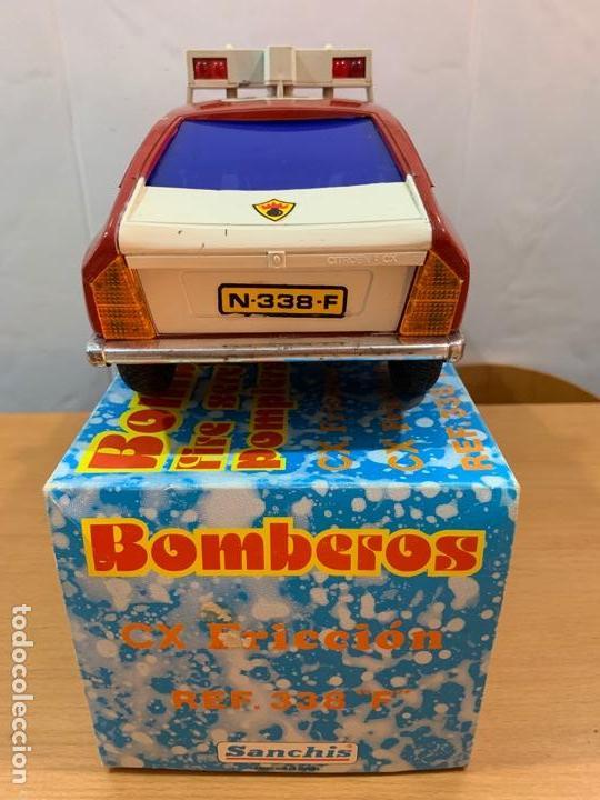 Juguetes antiguos Sanchís: CITROEN CX BOMBEROS SANCHIS - Foto 4 - 153880142