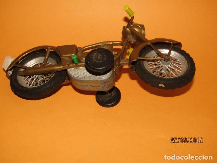 Juguetes antiguos Sanchís: Antigua Moto a Fricción de Juguetes SANCHIS Ibi - Foto 3 - 157200118