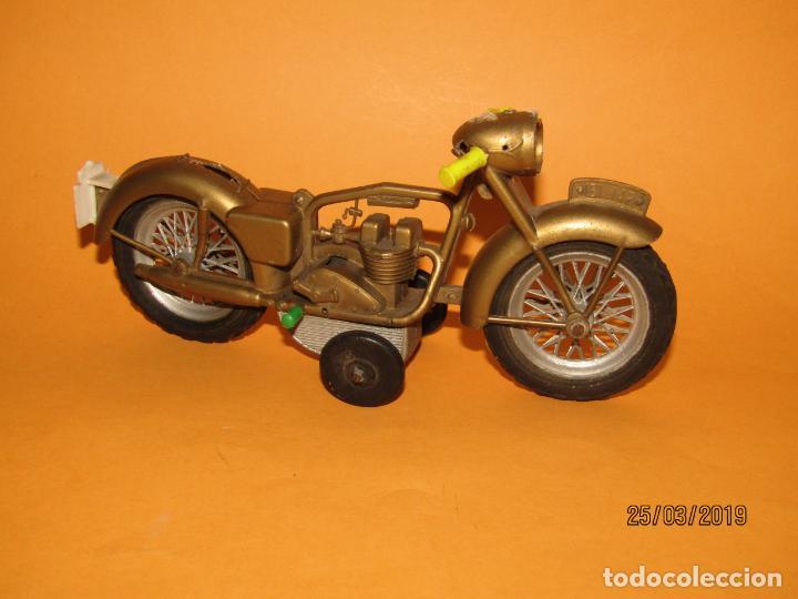 Juguetes antiguos Sanchís: Antigua Moto a Fricción de Juguetes SANCHIS Ibi - Foto 4 - 157200118