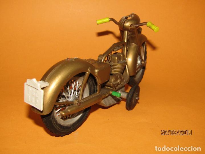 Juguetes antiguos Sanchís: Antigua Moto a Fricción de Juguetes SANCHIS Ibi - Foto 5 - 157200118