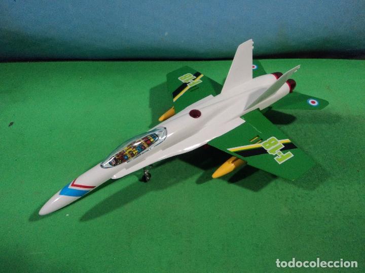 Juguetes antiguos Sanchís: AVION F-18 DE SANCHIS-ARTICULO NUEVO DE ALMACEN - Foto 2 - 158349962