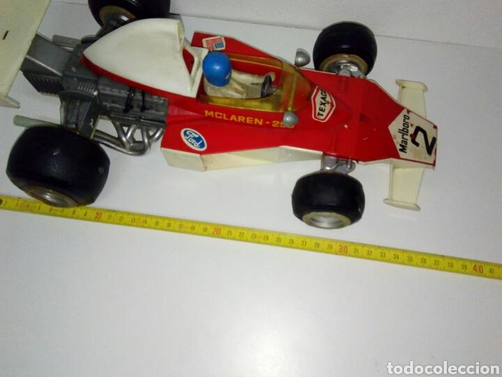 Juguetes antiguos Sanchís: Formula 1 mclaren 299 malboro reparar o piezas sanchis - Foto 4 - 277566318