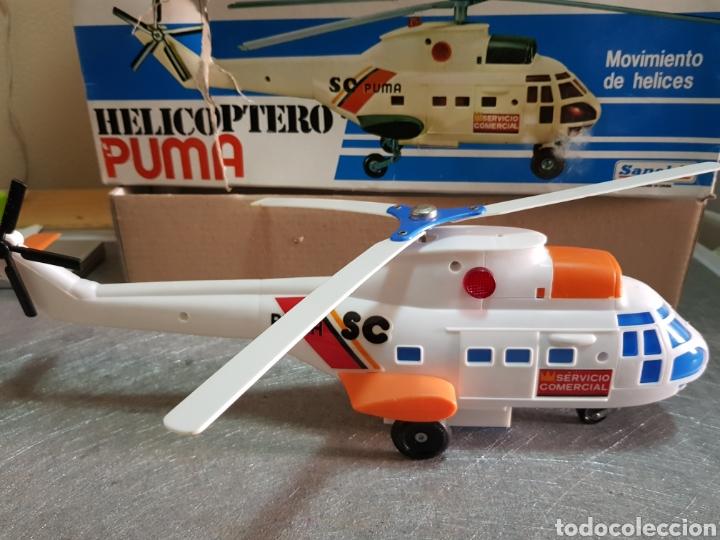 Juguetes antiguos Sanchís: Helicóptero Puma Sanchis Ref 365 en caja original - Foto 2 - 162437098